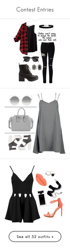"""""""Contest Entries"""" by m-phil ❤ liked on Polyvore featuring Charlotte Russe, Madewell, Miss Selfridge, New Look, contestentry, Givenchy, Marc Jacobs, grey, gray and STELLA McCARTNEY"""