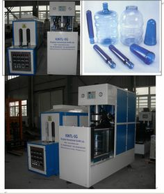 Unique inner preheater enables our KINTL-5G blow molding machine to make a better 5 gallon bottle with better transparency.  please watch on line short video of KINTL-5G at YOUTUBE: http://www.youtube.com/watch?v=FHxwX4-6zJU   Contact: Oscar Huang Kingtop International Group Ltd., http://www.kintls.com http://uk.youtube.com/cntic e-mail: kintlcn@gmail.com SKYPE: kintlcn