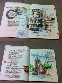 Artists' Journal Workshop: Sketchbook vs Journal