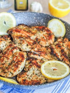This bright bold Mediterranean Chicken Breasts recipe full of lemon oregano and garlic is perfect for your weekday sandwiches salads and bowls. Mediterranean Diet Meal Plan, Mediterranean Dishes, Mediterranean Chicken Marinade, Clean Eating, Healthy Eating, Comida Keto, Cooking Recipes, Healthy Recipes, Grilled Recipes
