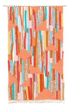 Blocks, 2014 Weaving Tapestry Wallhanging Alicia Scardetta