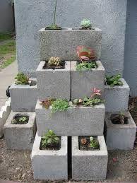 idee per piante grasse in blocchi di cemento - Cerca con Google