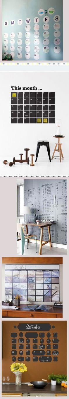 calendarios de pared 5 ideas para realizar un calendario de pared