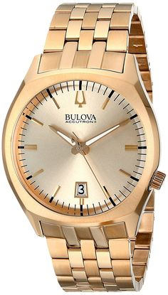 cff347fc2ef4a Bulova Men s Accutron II Goldtone  Surveyor  Watch     You can get more ·  Pulseira De Aço InoxidávelRelógios ...