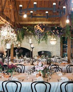 Romantic Barn Wedding Decorations ❤ barn wedding decorations with flowers for reception folkandfollow #weddingforward #wedding #bride