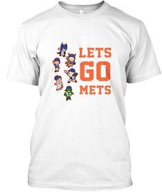Baseball Miniature Emojis Playing Nyc  White T-Shirt Front
