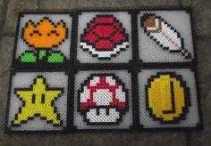 Mario Coasters by Soggy_Enderman - Kandi Photos on Kandi Patterns