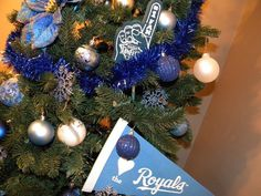 Kansas City Royals Christmas Tree