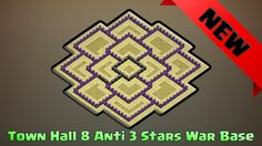 Town hall 8 anti all 3 stars war base design 2016. Town Hall 8 War Base Design 2016 Anti all 3stars war base. TH8 war base design 2016 anti all. Clash of clans base design th8 war base. Best th8 war base design 2016. TH8 anti dragon war base desgin 2016. Watch more clash of clans base design: town hall 8 anti 3stars war base design 2016 here: http://ift.tt/2d0kxTG  In this clash of clans base design video we will be watching town hall 8 anti 3stars war base design 2016. This base design is…