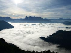 """""""Hall und Admont im Nebel"""" (Bild: nachrichten.at-User Lono)"""