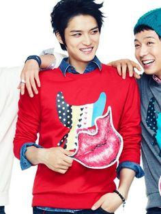 [UNISEX] NII NNUALOF1911 heart campaign  Long sleeves red $52