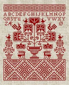 Embroidery Folk A couple of days ago I launched my website Modern Folk Embroidery - a site providing cross stitch embroidery patterns influenced by traditio. Cross Stitch Sampler Patterns, Cross Stitch Alphabet, Cross Stitch Samplers, Cross Stitch Designs, Cross Stitching, Embroidery Designs, Folk Embroidery, Learn Embroidery, Cross Stitch Embroidery