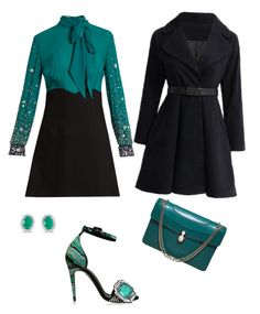 """Green Life"" by umut-gul on Polyvore featuring Miu Miu, Pierre Hardy, Bulgari and Amanda Rose Collection"