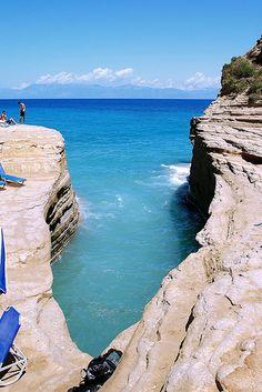 Sidari, Corfu, Greece <3<3 Visit http://www.hot-lyts.com/ for beautiful background images