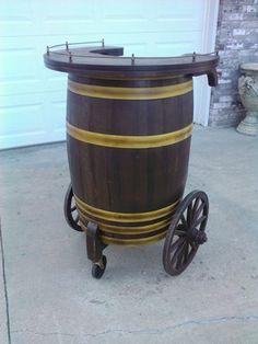 Mobile Barrel Bar