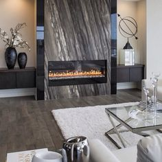 Let's gather round the fireplace... Please follow our backup account @inspire_me_home_decor2