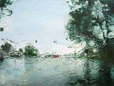 """Karin Kneffel ou l'illusion réaliste. Série """"Rainy windows"""" le flou dans l'art pictural ou l'éloge de la myopie…   de paysage en paysage"""