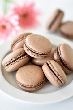 「チョコレートのマカロン」はつみ | お菓子・パンのレシピや作り方【corecle*コレクル】