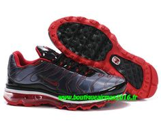 Nike Air Max Tn Requin/Tuned +2009 Chaussures Basket pour Homme Noir/Rouge