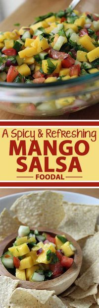It's hot and it's cold. It's got a hint of spice while it�s really refreshing at the same time. It may sound like an oxymoron, but this mango salsa recipe proves that this unique balance of flavor, temperature and texture is not only possible, but delicio