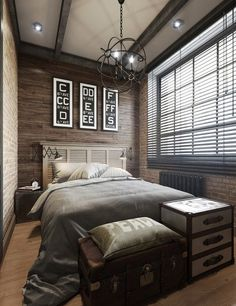 15 Masculine Bachelor Bedroom Ideas | Home Design And Interior                                                                                                                                                                                 More