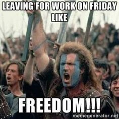 Friday Freedom - Friday Meme