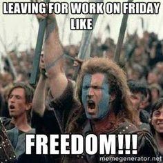 Friday Freedom - Friday Meme