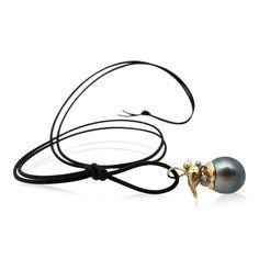 Tahitian pearl.18c gold. Tahitian Pearls, Jewellery, Gold, Handmade, Jewels, Hand Made, Schmuck, Jewelry Shop, Jewlery