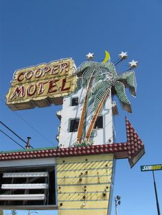 Cooper Motel, Tuscola, Illinois. My sister used to work here when she was in high school.