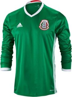 coupon for adidas womens soccer jerseys with numbers 0009e ce517  canada  long sleeve adidas mexico home jersey. perfect stuff for the winter. d1b5e  c46f6 6c91371a7