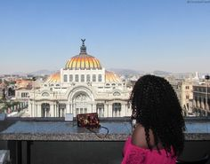 Palace of Fine Arts (Palacio de Bellas Artes) in Mexico City is one of the best and must see attractions in Mexico.  Click link for Facts and Photos - by Christobel Travel  | Ciudad de Mexico | Downtown Mexico City / Black girls travel / women travel / Travel in Style / Travel with Style