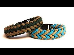 How to tie the Intertwined Half Hitch 550 paracord bar bracelet - Part 2 -- eXtremePara.com - YouTube