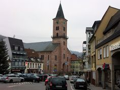 Michaelskirche, Eberbach, Baden-Württemberg, Germany; from whence my 6th-7th great grandparents were from.