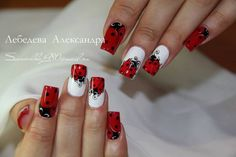 ladybug #nail #nails #nailart