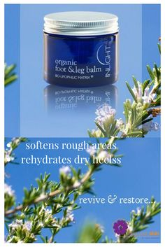 deal for cracked heels! An exquisite, multi-tasking, aromatic balm to revive tired, aching feet and legs, melt away dry, rough skin and improve circulation.Click through to learn more or repin for later.