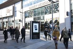 A 2013 reboot on the concept of kiosks, new CityLive multi-purpose tech and ad unit from @MediaCo Outdoor in Manchester #OOH #DOOH