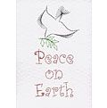 More details on Stitching Cards Peace on Earth Dove