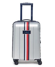 """Tommy Hilfiger Logan 25"""" Softside Spinner & Reviews - Upright Luggage - Macy's Tommy Hilfiger Luggage, Best Carry On Luggage, Major Airlines, Spinner Suitcase, Beauty Box Subscriptions, Golf Outfit, Signature Style, Logan"""