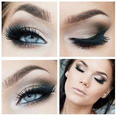 Inspiring eye makeup tutorial | Eye makeup tips..... <3
