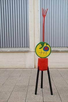 Mirósculpture, Miro Foundation in Barcelona