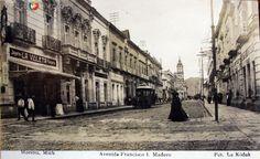Fotos de Morelia, Michoacán, México: AVENIDA FRANCISCO I MADERO Hacia 1900