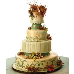 Photo: Larry Fagala ~ Cake: Supreme Kakes & More #weddingcake #cake #weddingsinhouston