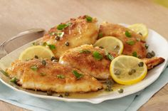 Simple lemon picatta chicken...made this several times and it is always good.