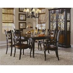 Hooker Preston Ridge Round Dining Table