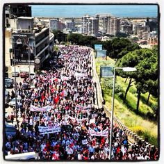 25,000+ Lebanese Armenians marching in Lebanon on April 24th, in commemoration of the 97th anniversary of the Armenian Genocide. They matched from the Armenian Orthodox Catholicosate in Antelias to the Turkish Embassy. Turkey still denies that they committed the first genocide of the 20th century.
