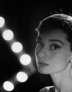 {Audrey Hepburn 1956} Photographer  Allan Grant