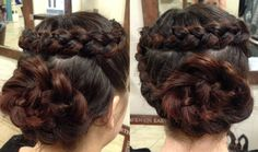 Plait Hair Up