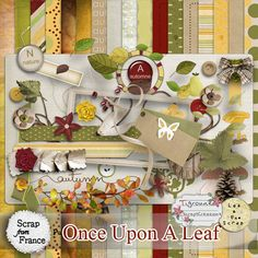 Collab.LUS/Tigroune Once Upon A Leaf - Exclu SFF [LeaUgoScrap/Tigroune] - €4.00 : Boutique ScrapFromFrance