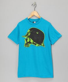Turquoise Grip Tee from Metal Mulisha on #zulily