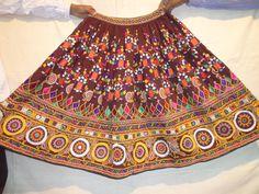 belly dancers skirts/vintage skirts / banjara skirts/tribal indian skirts/  tribal clothes /hand made skirts/ shisha work skirts